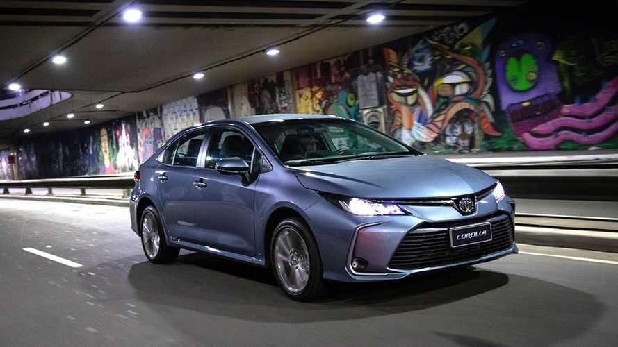 Toyota Corolla sobe de preço pela sexta vez no ano e já supera os R$ 150 mil