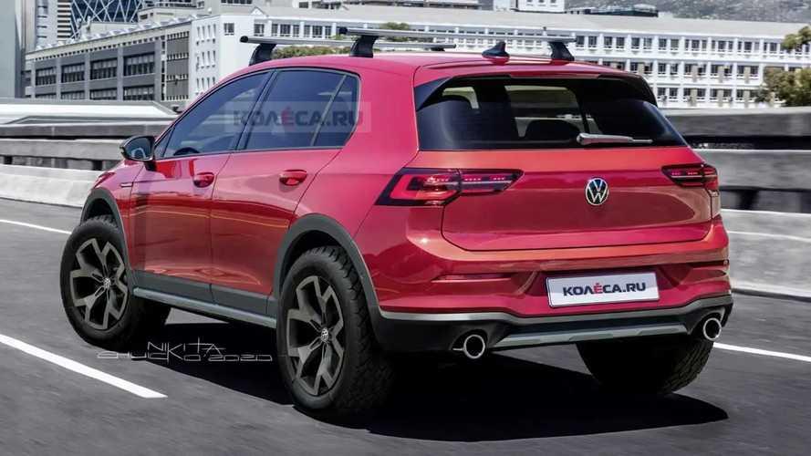 Volkswagen Golf Country 2020 render