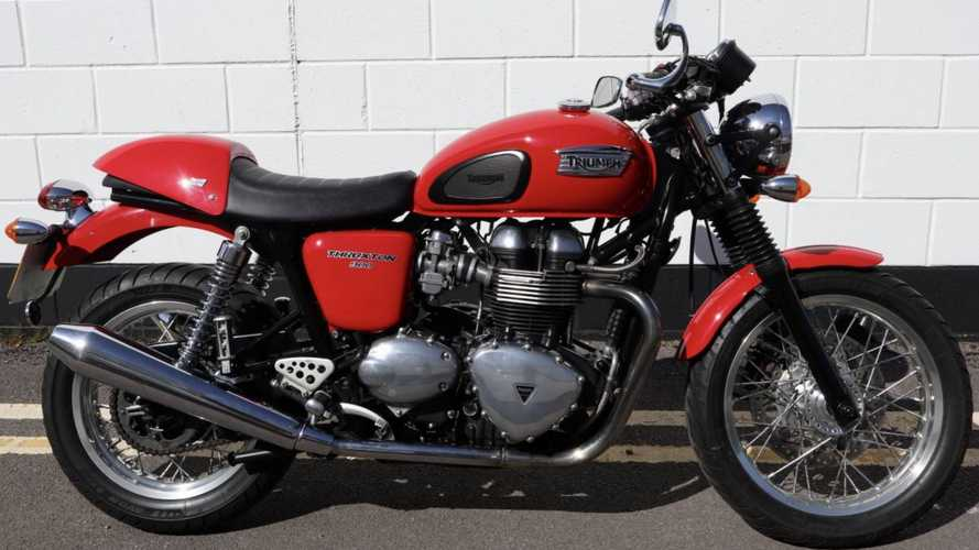 This 2009 Triumph Thruxton In Excellent Condition Can Be Yours