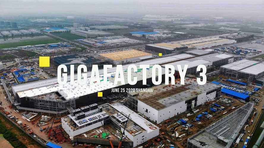Tesla Giga Shanghai Construction Progress June 25, 2020: Video