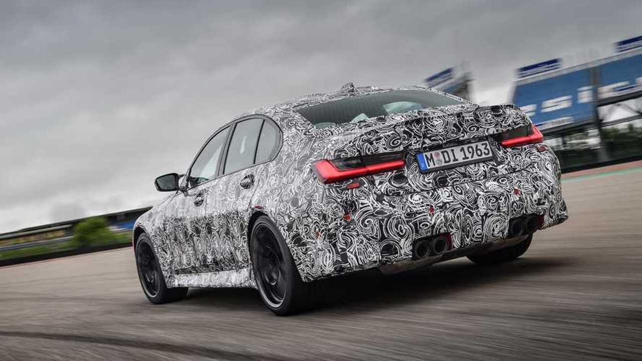 BMW M3 2020, coche preserie