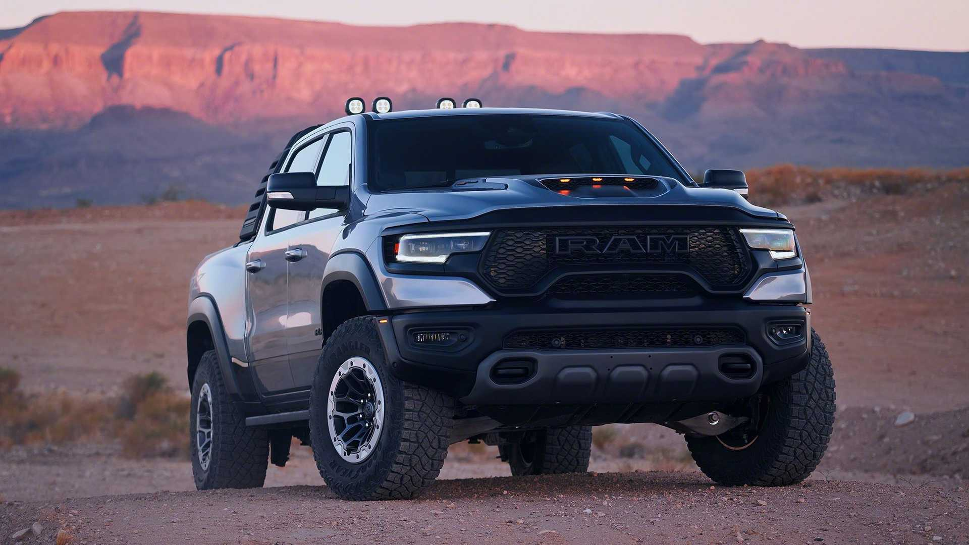 2021 Ram Trx Officially Coming To Europe