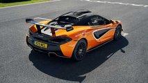 McLaren 620R, la prova su strada