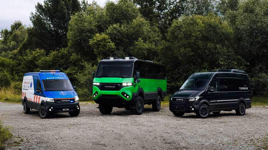 Torsus Terrastorm debuts as a bodacious VW-based off-road bus