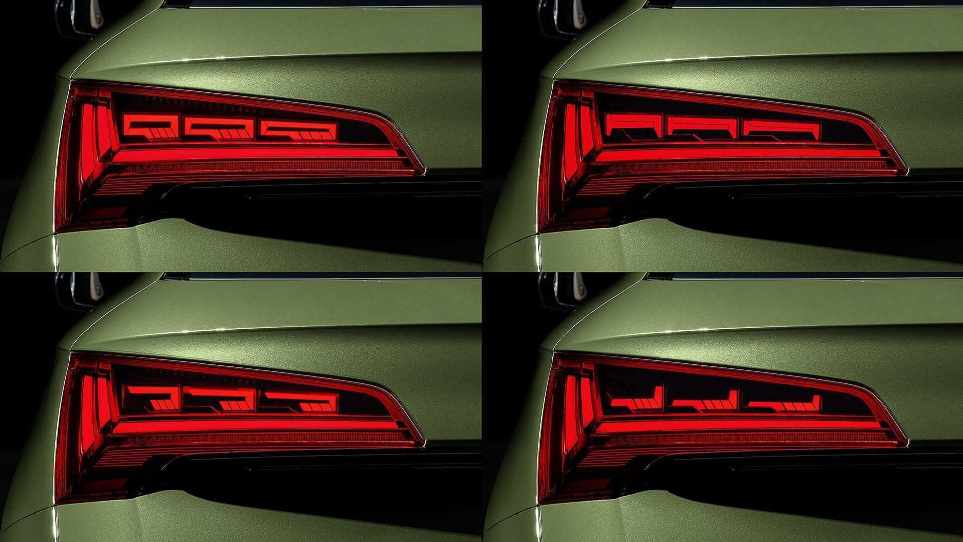 Qu'apportent les feux OLED de l'Audi Q5 restylé ?