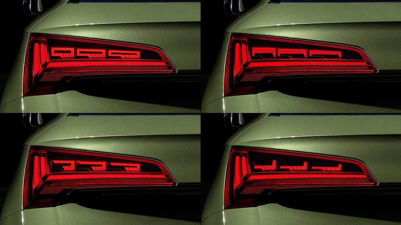 Audi Q5 2020, con tecnología OLED