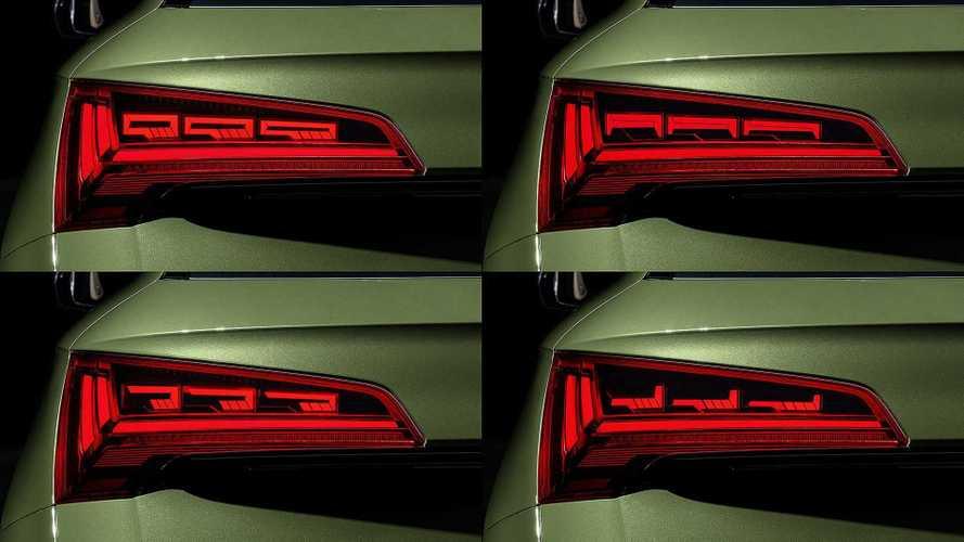 ¿Qué beneficios aportan los pilotos OLED en el Audi Q5 2020?