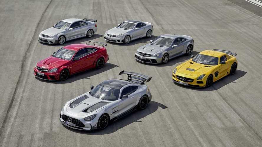 Tutte le Mercedes-AMG Black Series della storia