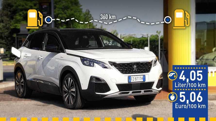 Tatsächlicher Verbrauch: Peugeot 3008 Hybrid4 mit Plug-in-Antrieb im Test