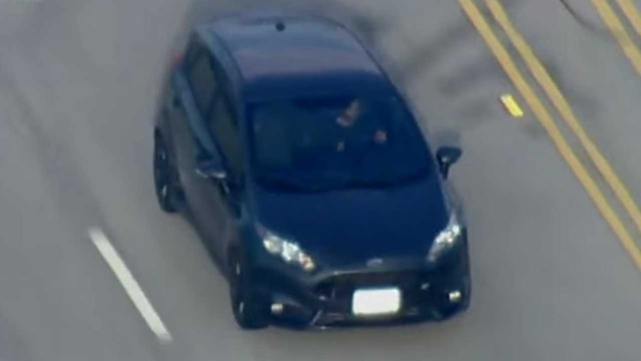 Ford Fiesta ST Chase
