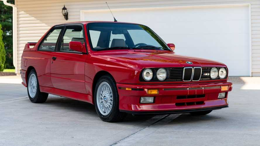 1988 BMW M3 sold at auction
