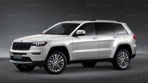 Jeep Grand Cherokee 2021, render de Motor1.com