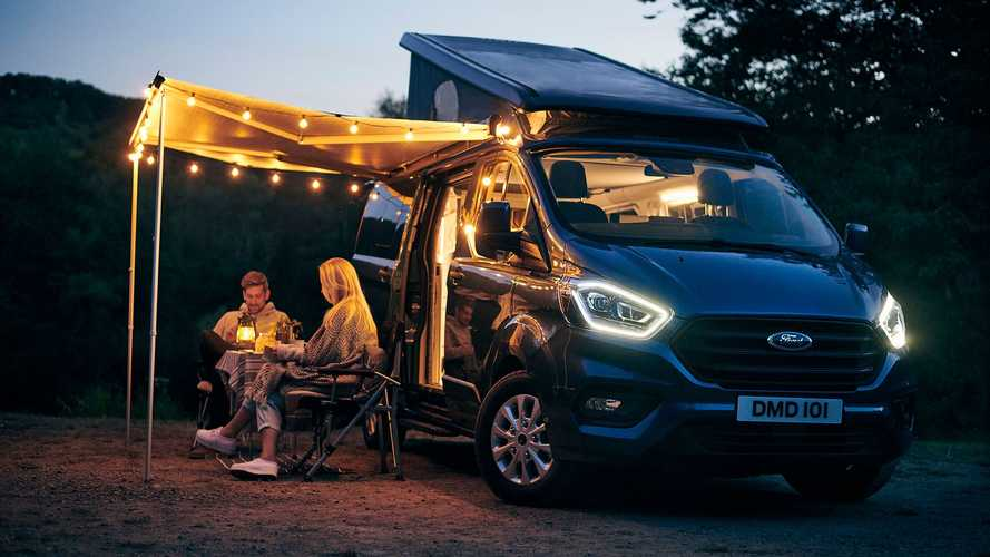 Ford Transit Custom Nugget Plus: ¡todos al campo!