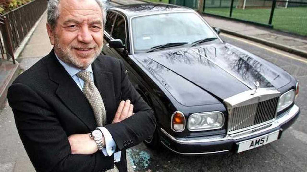 Alan Sugar's Rolls-Royce Silver Seraph set for London auction