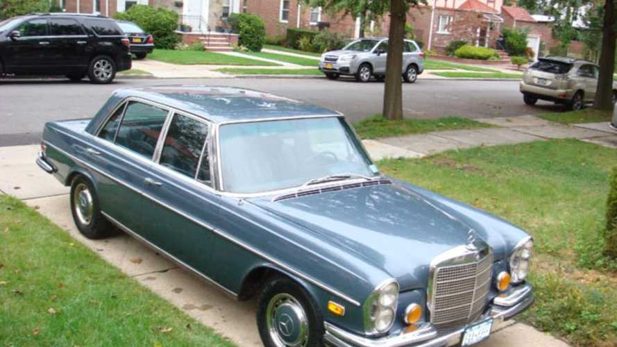 Be a Maverick with this Warner Bros. exec owned Mercedes
