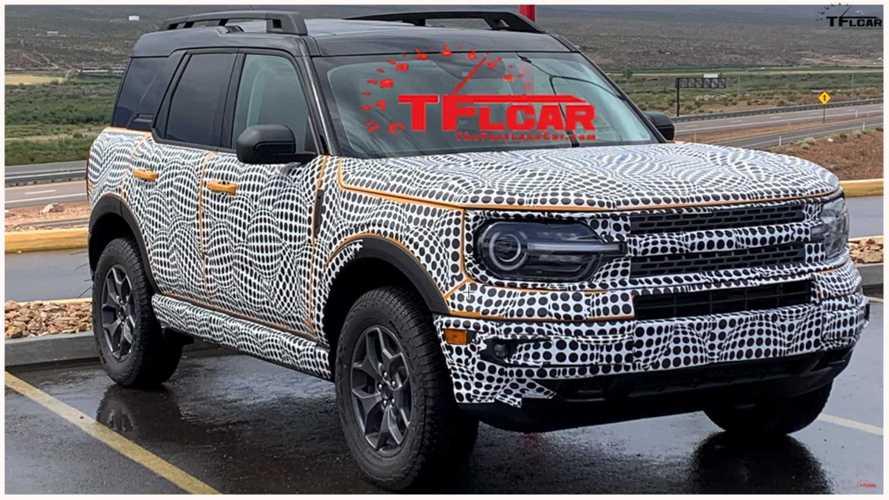 Ford Bronco Sport 2021: rival do Compass exibe detalhes em novo flagra