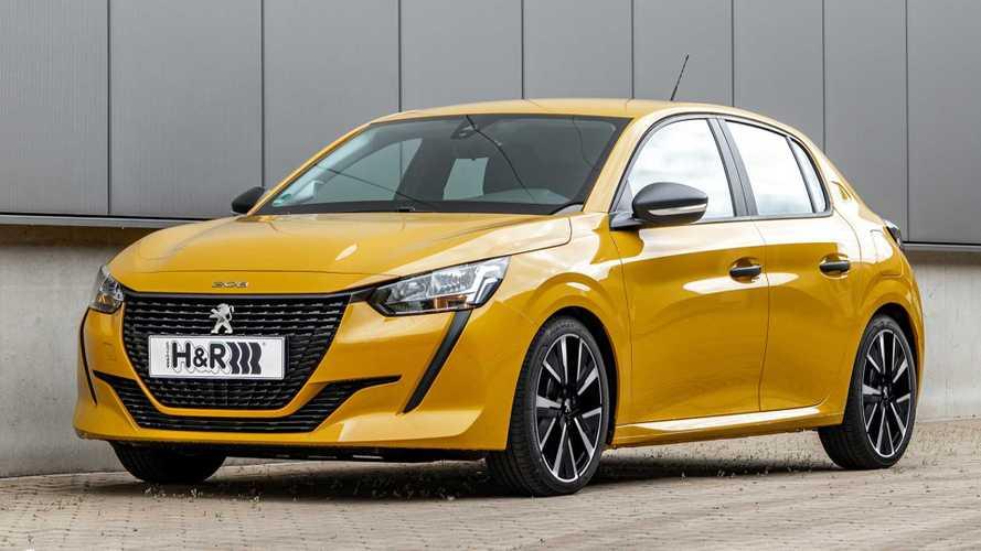 H&R-Sportfedern für den Peugeot 208