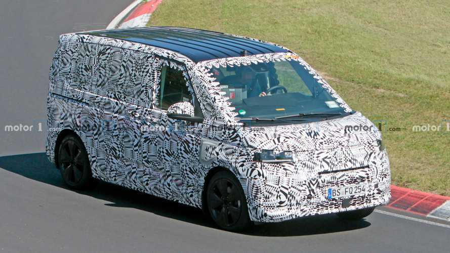 VW T7 PHEV Spied Lapping The Nurburgring