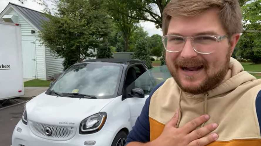 2018 Smart Electric Drive 70 MPH Highway Range Test