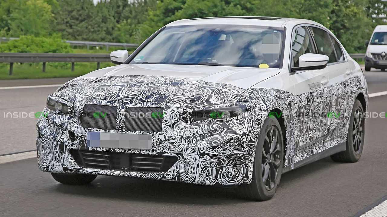 Photos espion BMW Série 3 électrique