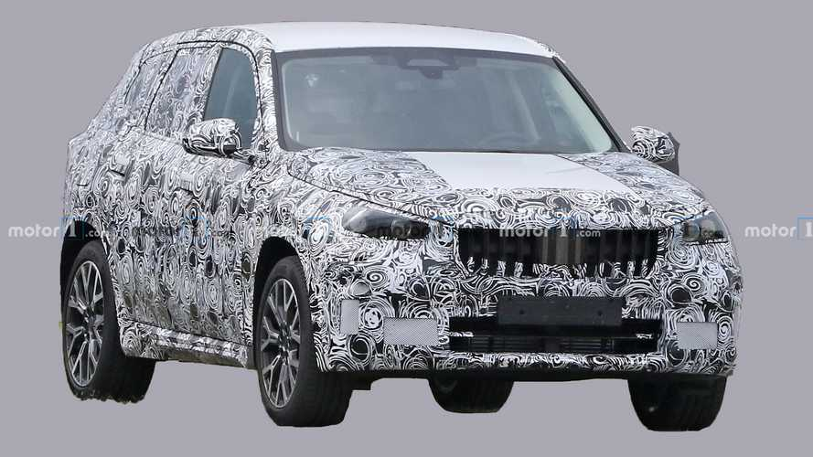 Next-gen BMW X1 spied for first time