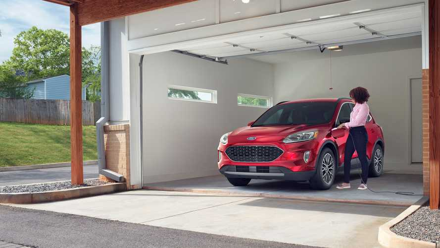Ford Escape PHEV Official EPA Numbers: 37 Miles Of EV Range