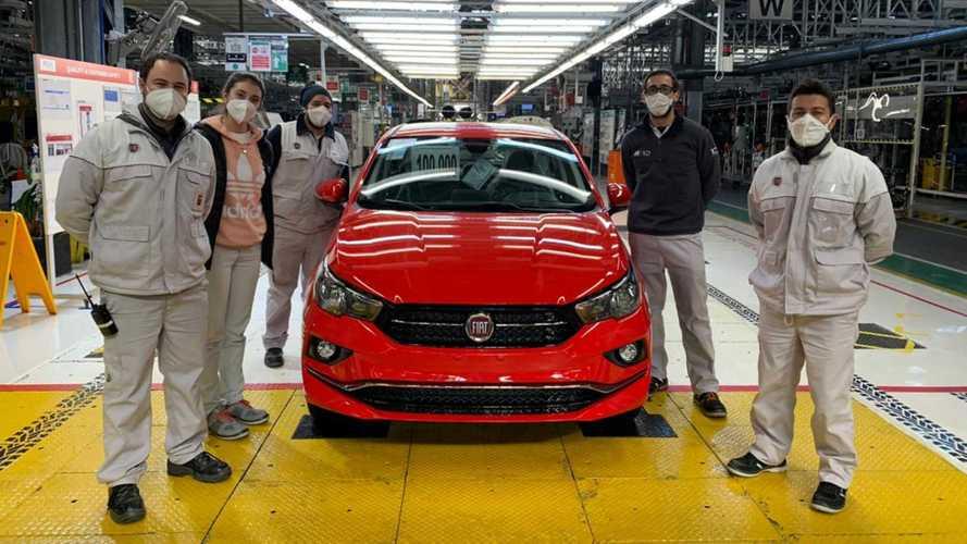 Fiat Cronos alcança 100 mil unidades produzidas na Argentina