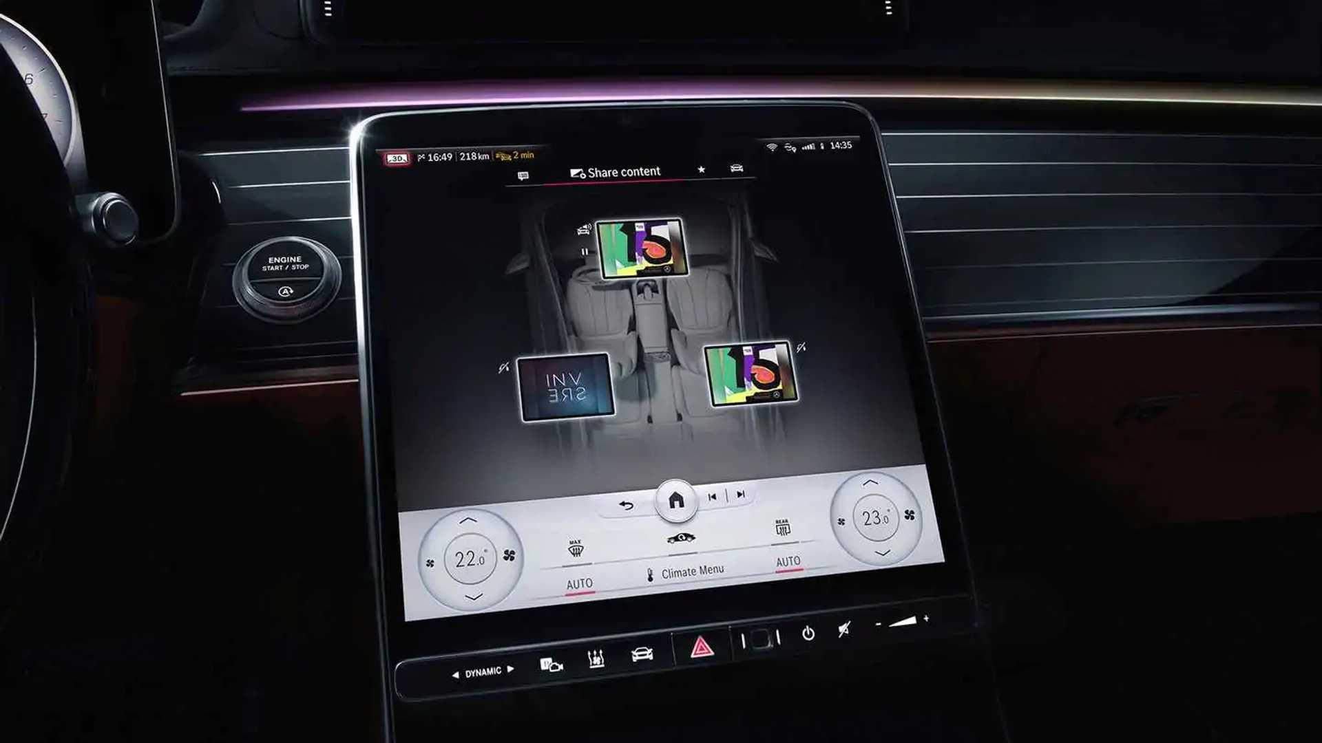 Mercedes-Benz S-Class (2020) My MBUX