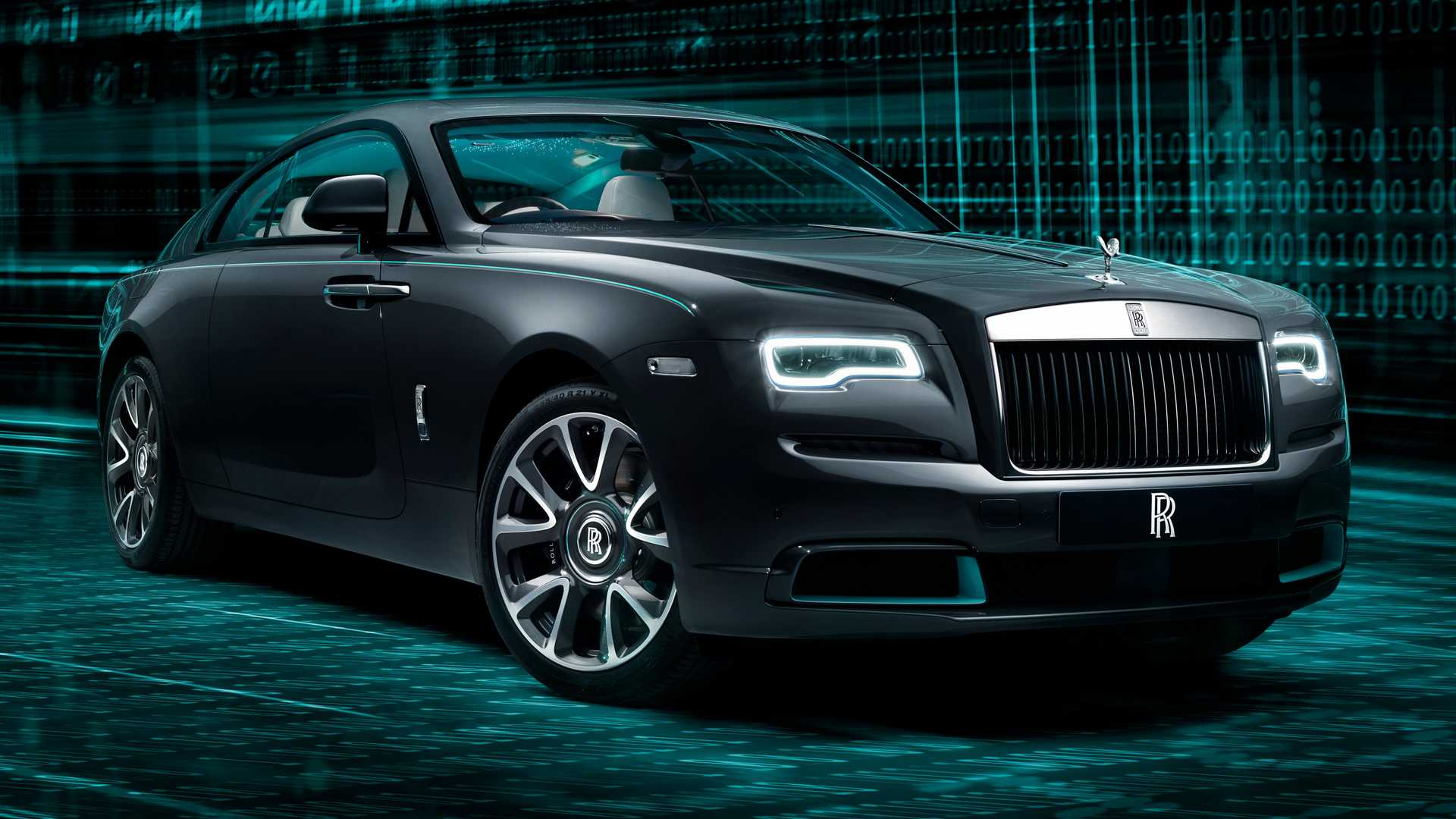 2020 Rolls-Royce Wraith Kryptos Collection is inspired by the art of codes