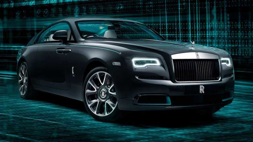 Rolls-Royce Wraith Kryptos Collection 2020, 50 unidades encriptadas