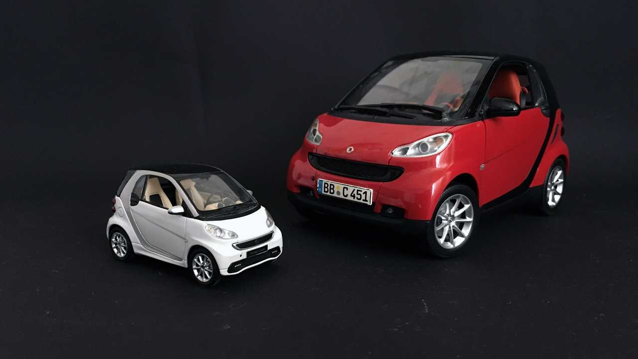 Smart Fortwo (451) 1:43/1:18