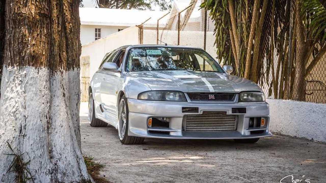 Kombivá alakított Nissan Skyline GT-R R33
