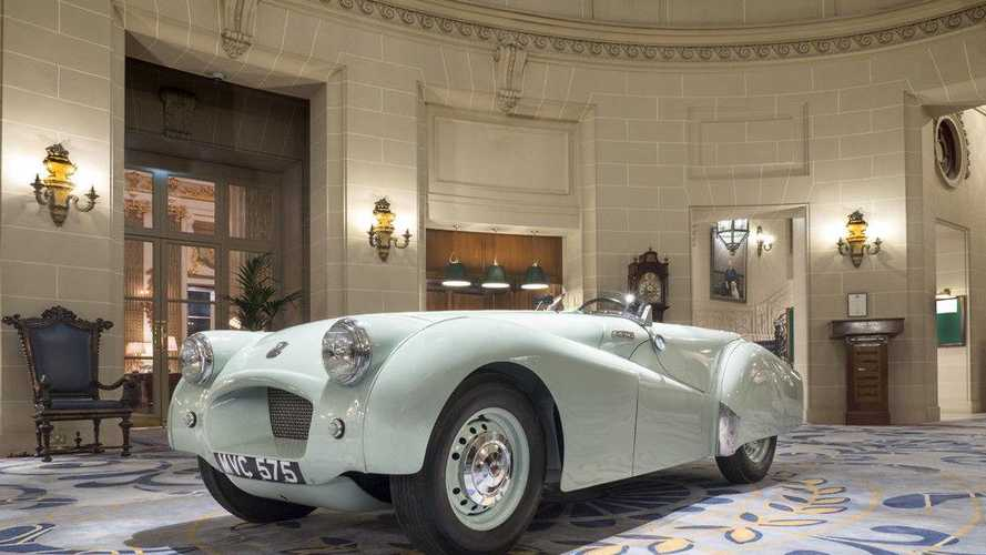 Record-breaking Jabbeke Triumph TR2 for sale!