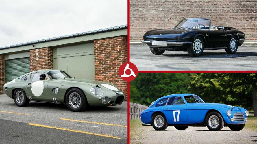 Top 10 cars heading for auction at Monterey Car Week