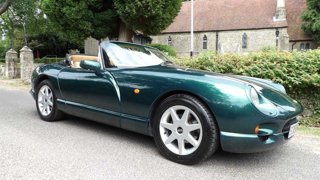 Classic for sale: The most bonkers TVR Chimaera of them all