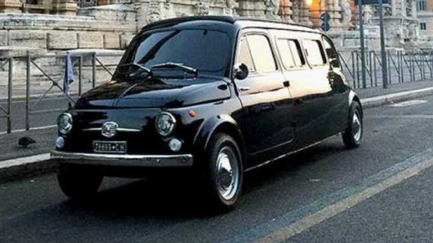 Fiat 500D Limousine from Zoolander 2 up for sale!