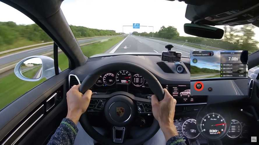 962-bhp Porsche Cayenne Turbo hits 207 mph on the Autobahn