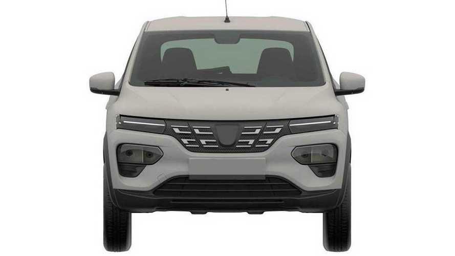 Dacia Spring Patent Görüntüleri