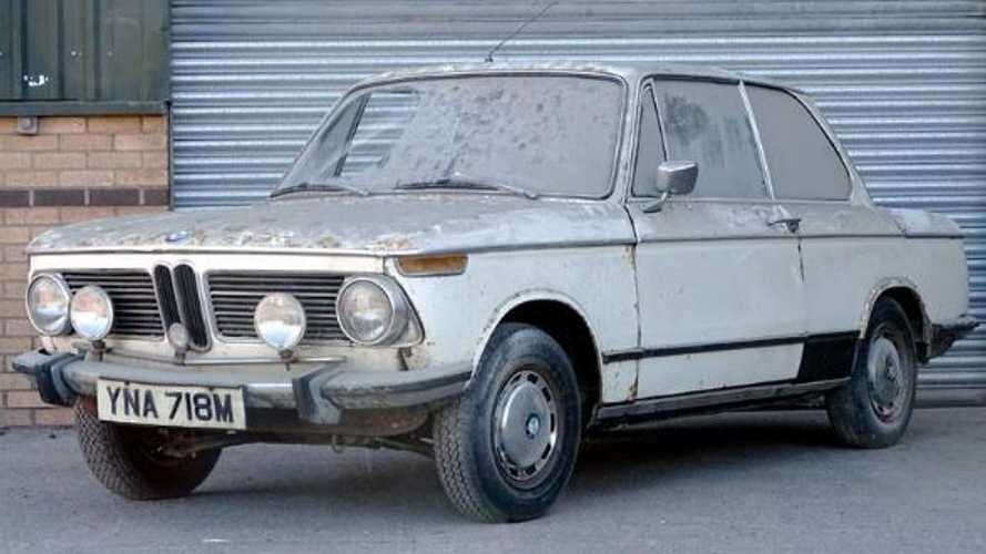 Wiliams BMW group to restore 1973 BMW 2002 - but there's a twist...