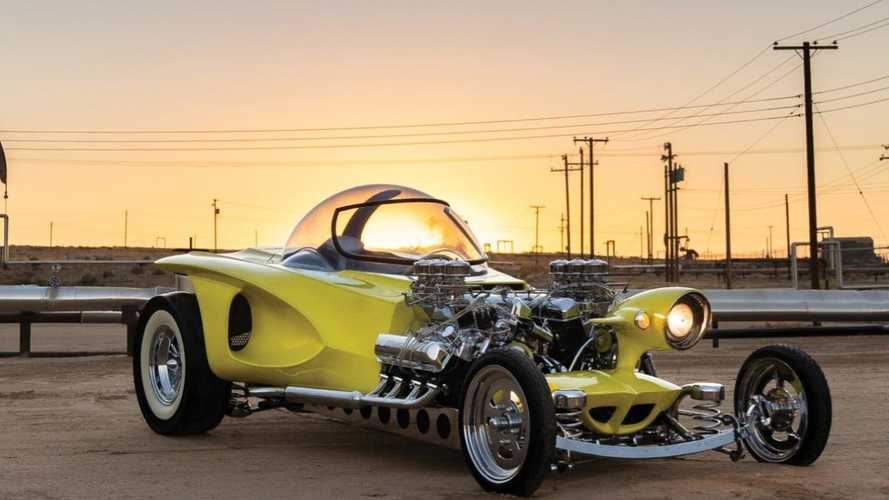 Customiser Ed Roth's 'Mysterion' hot rod replica on sale