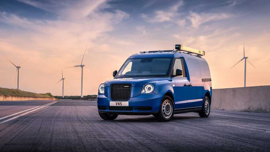LEVC Presents Details For Its VN5 Range-Extended Electric Van
