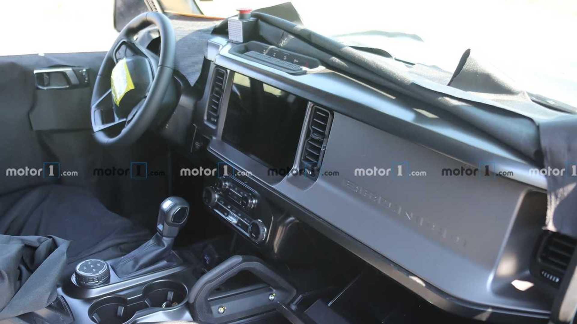 2021 Ford Bronco Spy Shots Reveal Off-Roader's Interior