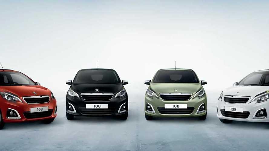2020 Peugeot 108 updates