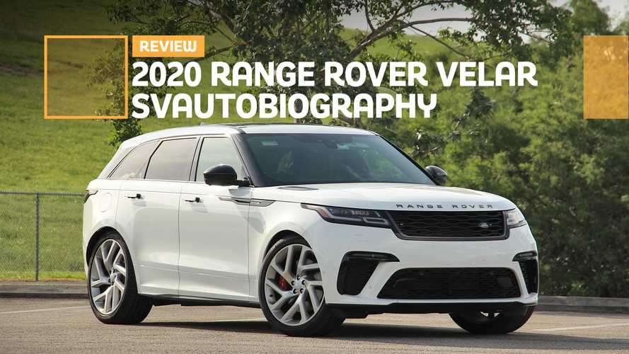 2020 Range Rover Velar SVAutobiography Dynamic Review: Performance Art