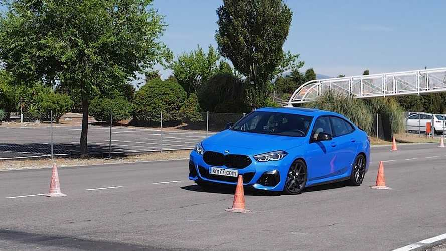 BMW M235i Gran Coupe Faces The Moose Test