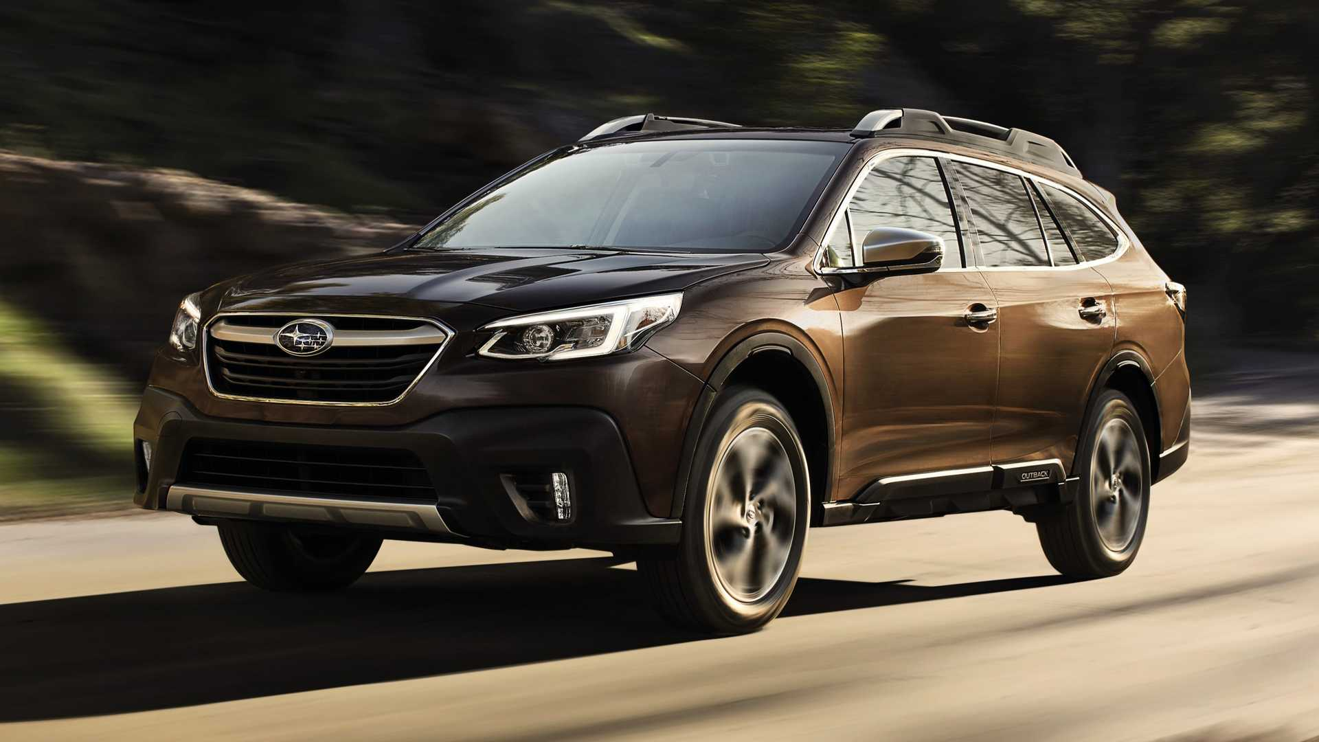 Pictures 2021 Subaru Outback Spy Photos