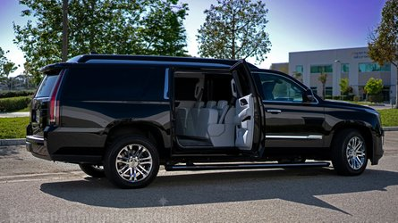 Sylvester Stallone's stretched Cadillac Escalade ESV on sale for £270k