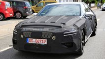 Genesis G70 Shooting Brake Wagon Spied