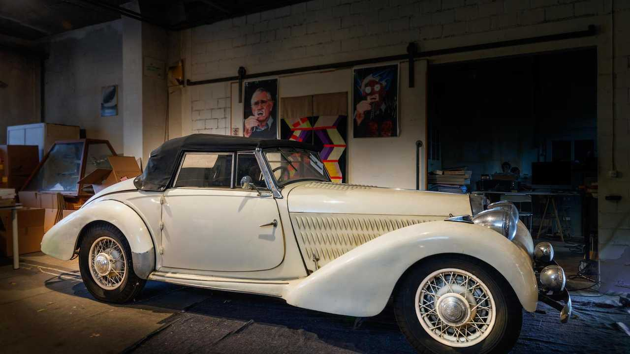 Rare 1938 Talbot-Lago T23 'Baby' uncovered after nearly 30 years