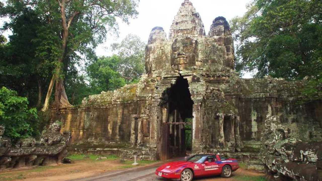 V8nam: Taking on Asia with a budget Chevrolet Corvette V8